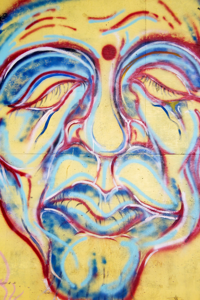 Graffiti Face Art