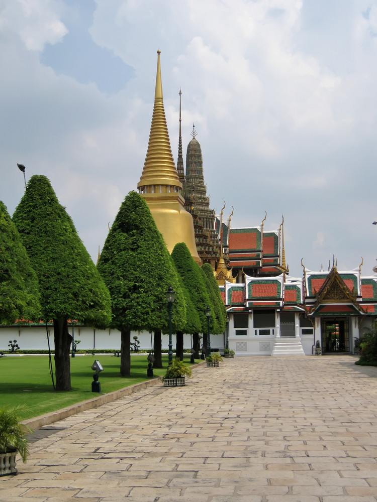 Grand Palace. A Temple Wat Phra Kaew