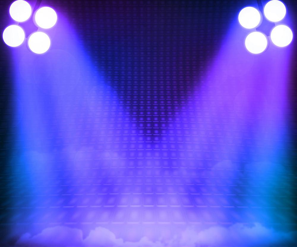 Grant Stage Spotlight Background