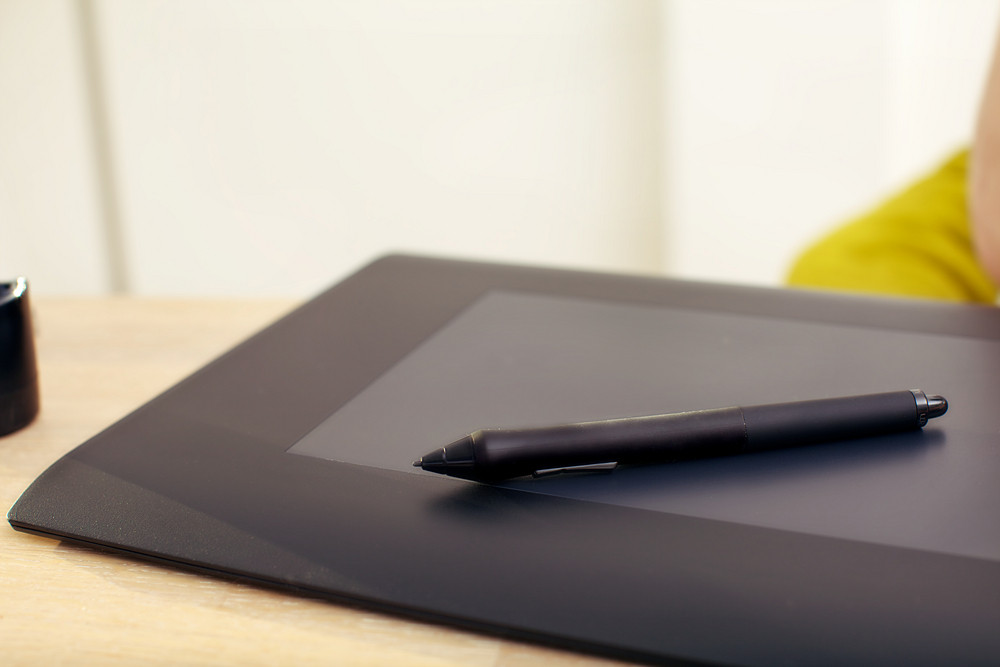 Graphics Tablet And Pen