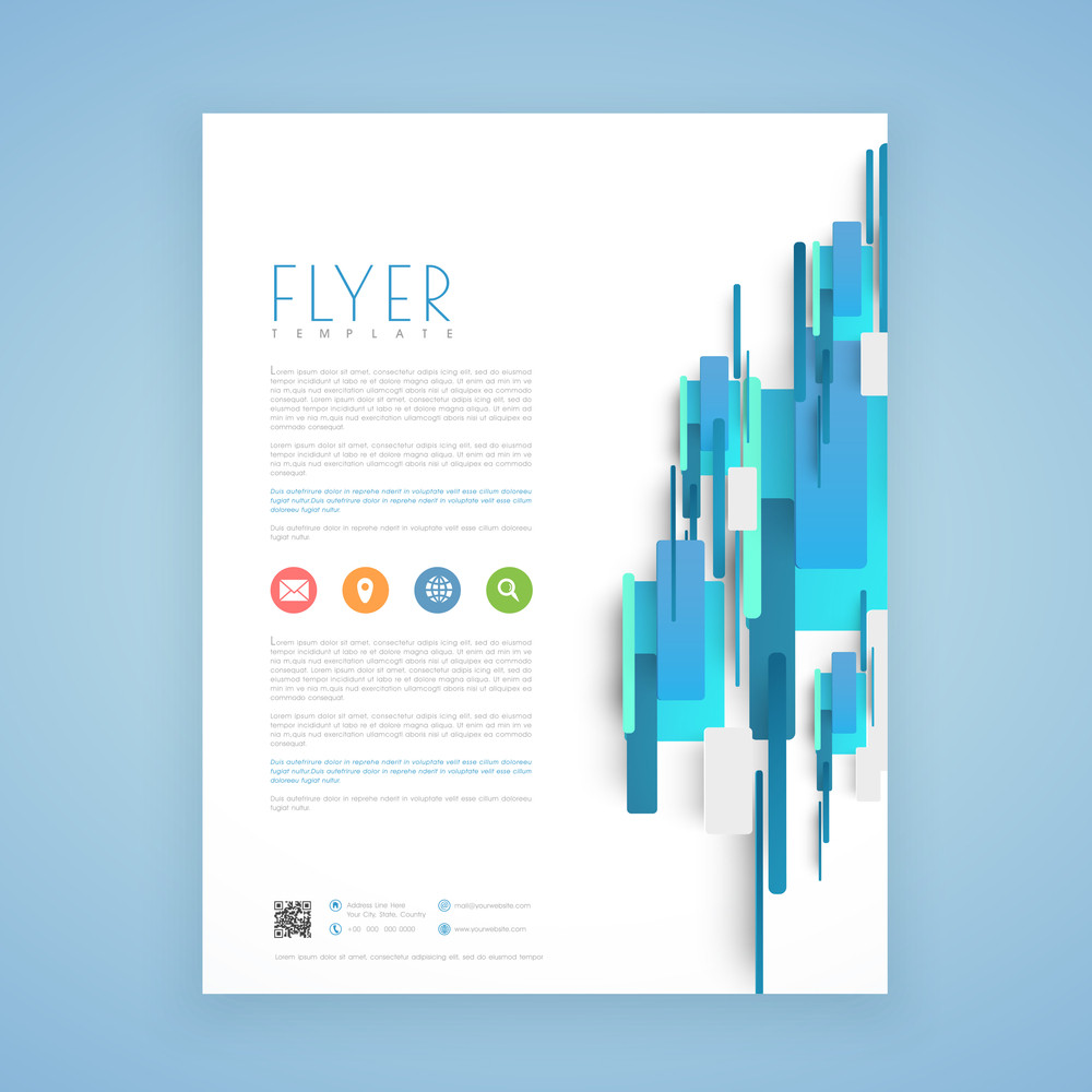 Abstract professional business flyer template or brochure design abstract professional business flyer template or brochure design wajeb Gallery