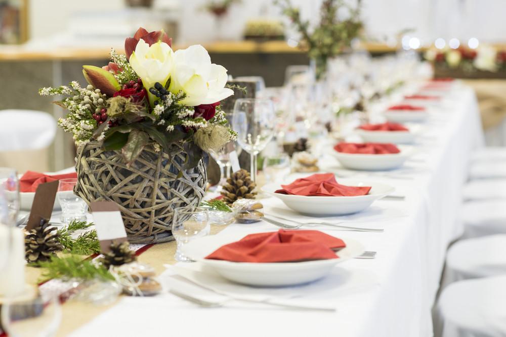 Beautiful wedding event decoration for various celebration style