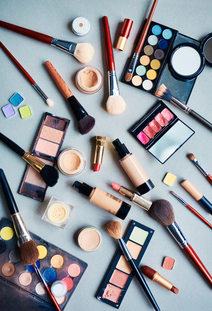 Beauty products for professional make-up