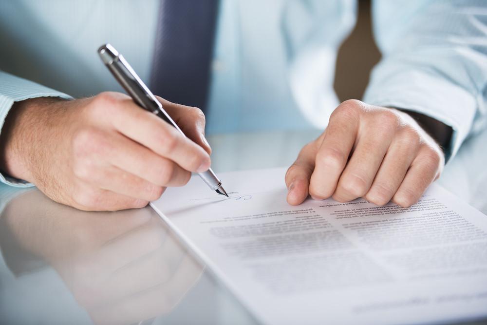 商人簽訂合同,經營合同的細節