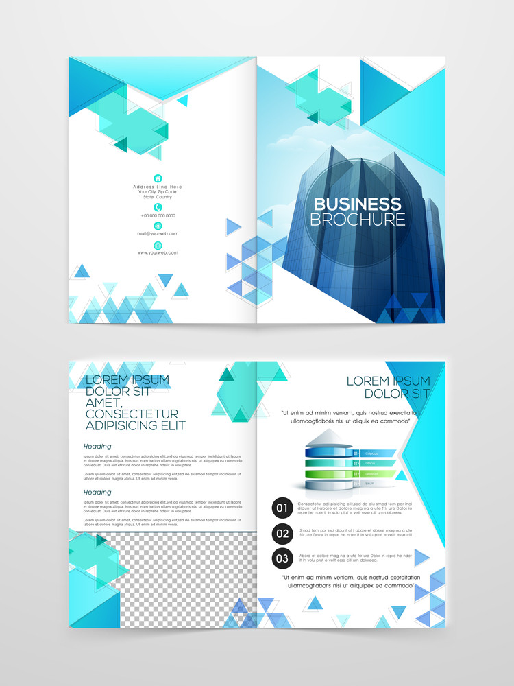 Creative Professional one page Business Flyer Banner or Template ...