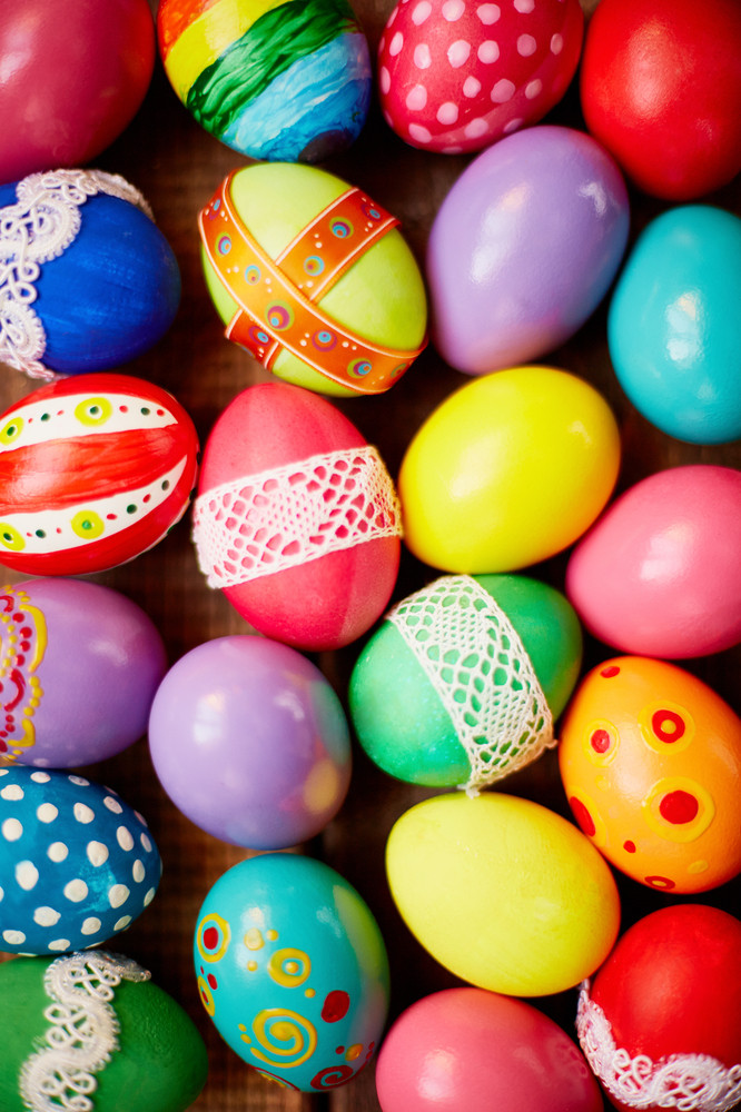 Creative Easter background