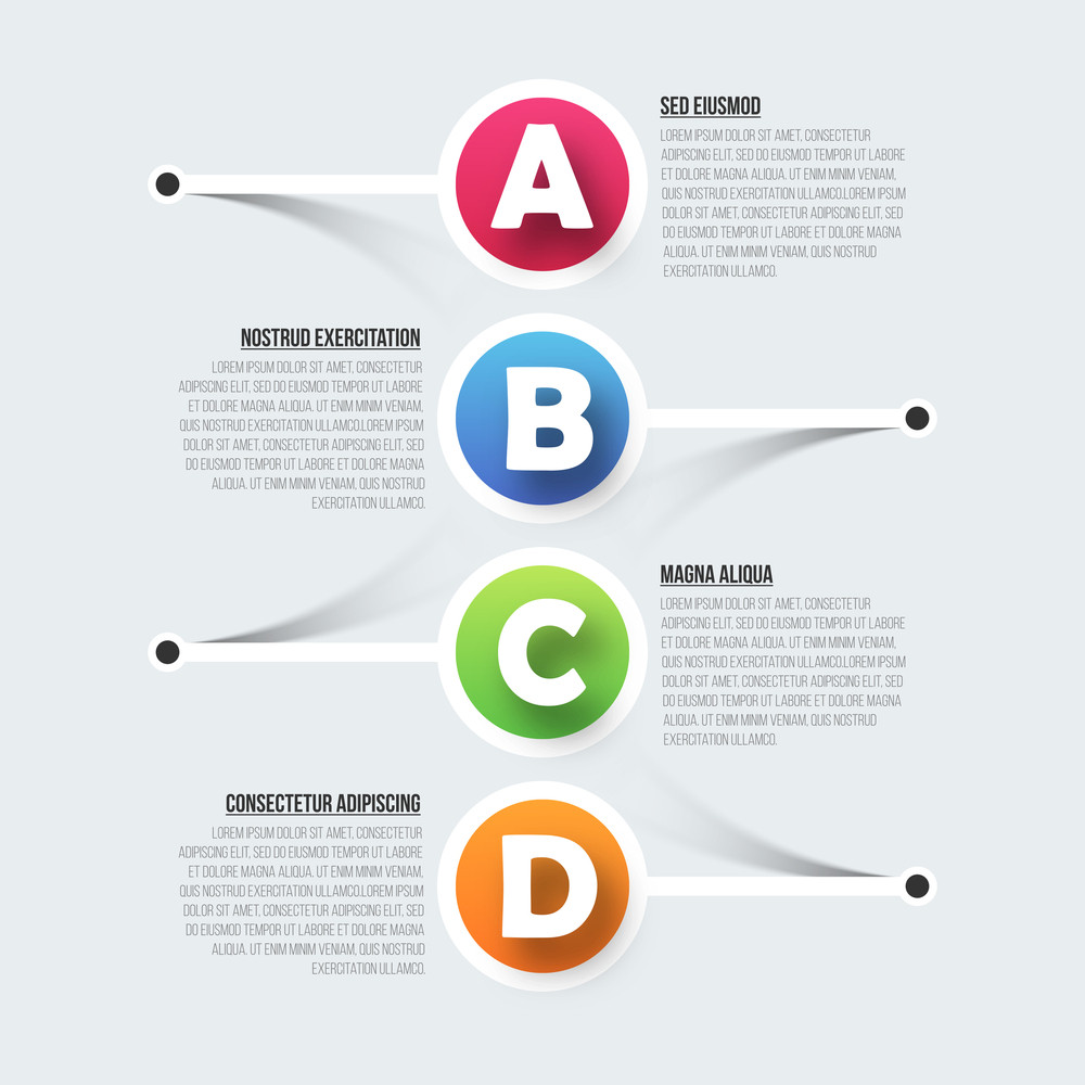 Creative infographic template layout for your Business.
