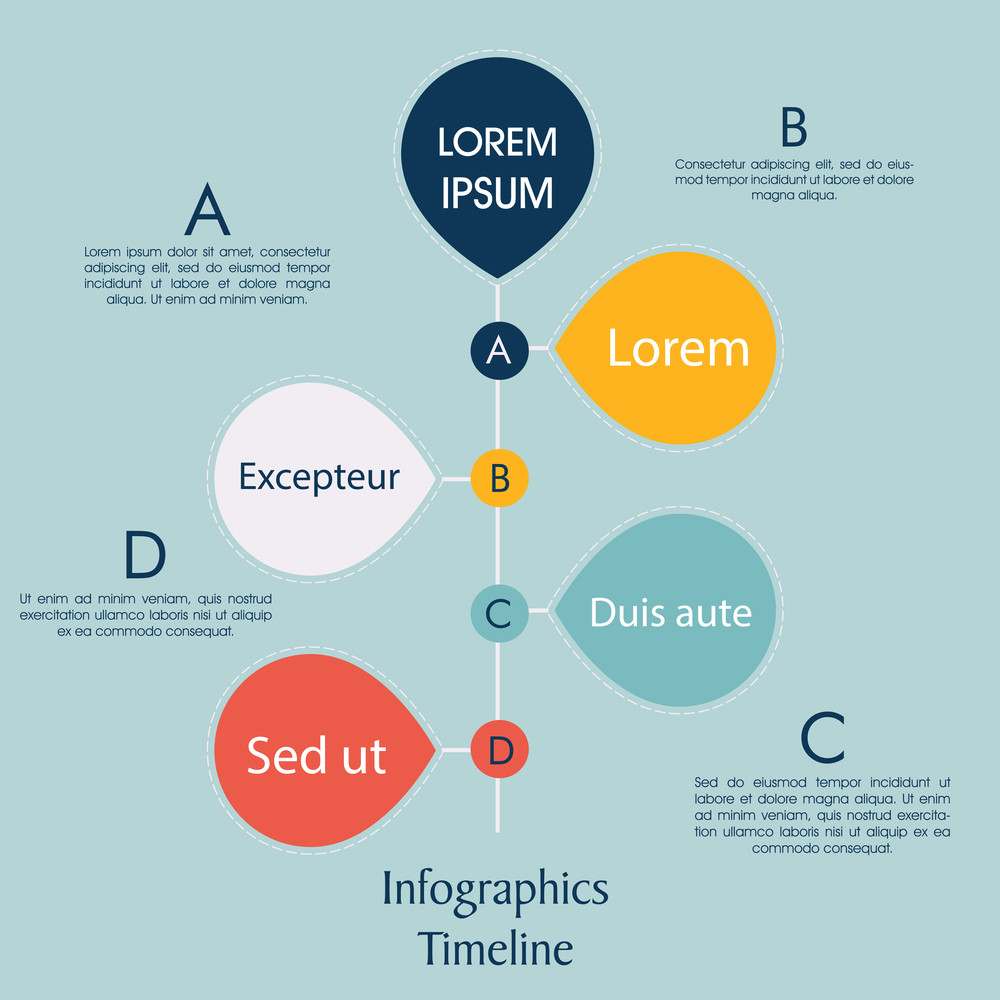 creative infographic template presentation for business or corporate