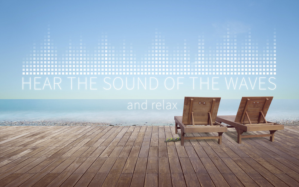 Hear the sound of the beach