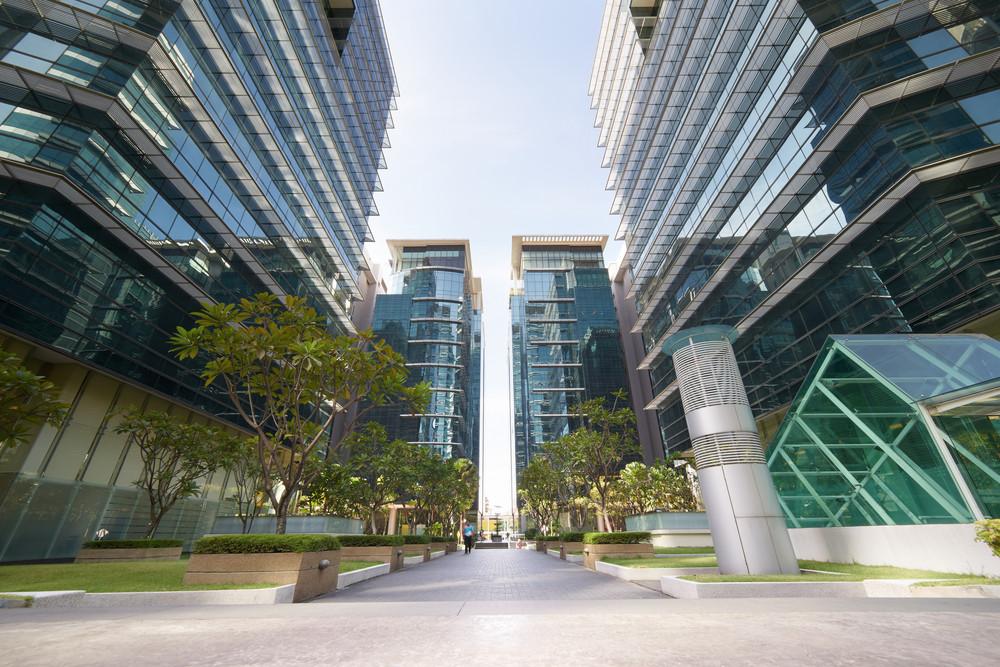 KUALA LUMPUR/MALAYSIA - SEPT 30 2016: Streets and buildings of Kuala Lumpur, the capital city of Malaysia .