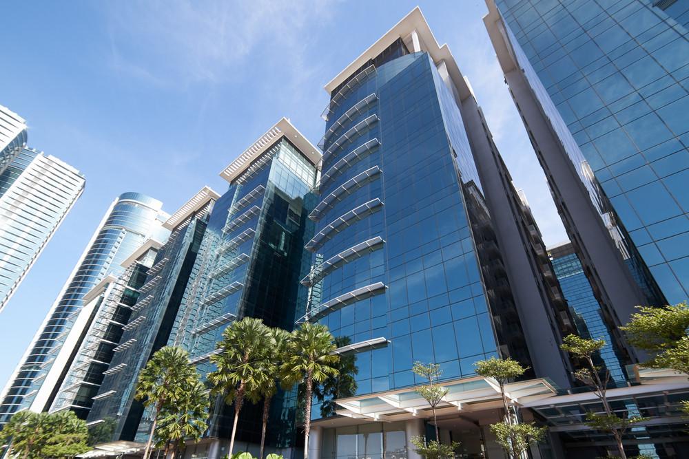 Morden buildings of Kuala Lumpur, the capital city of Malaysia .