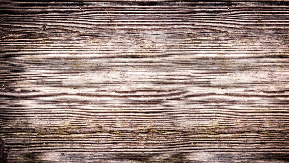 Old dark wooden board background, plank with texture, empty copy space