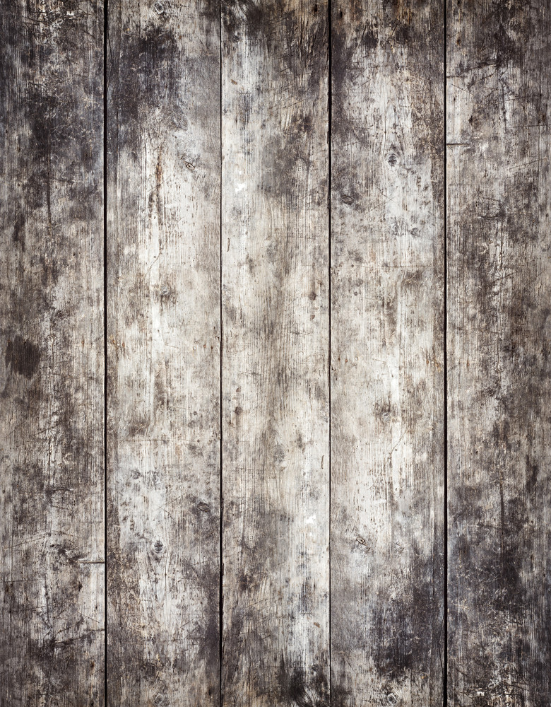 Old stained wooden board background, plank with texture, empty copy space