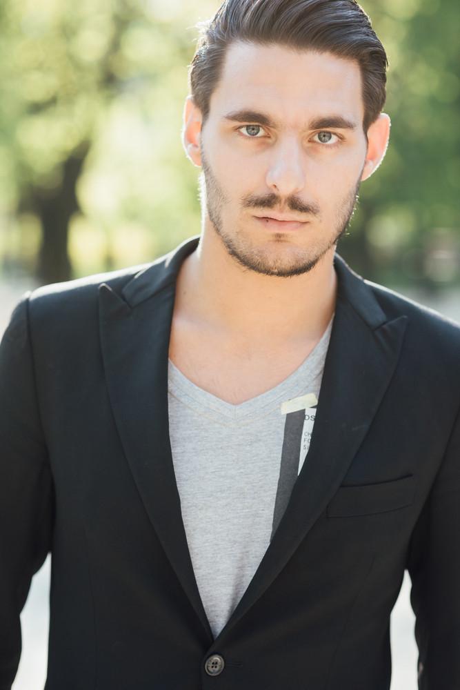Handsome Boy In Italian