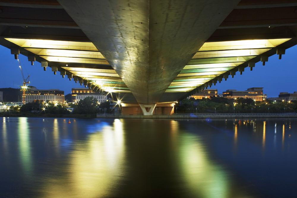 Putrajaya Under Bridge,Malaysia