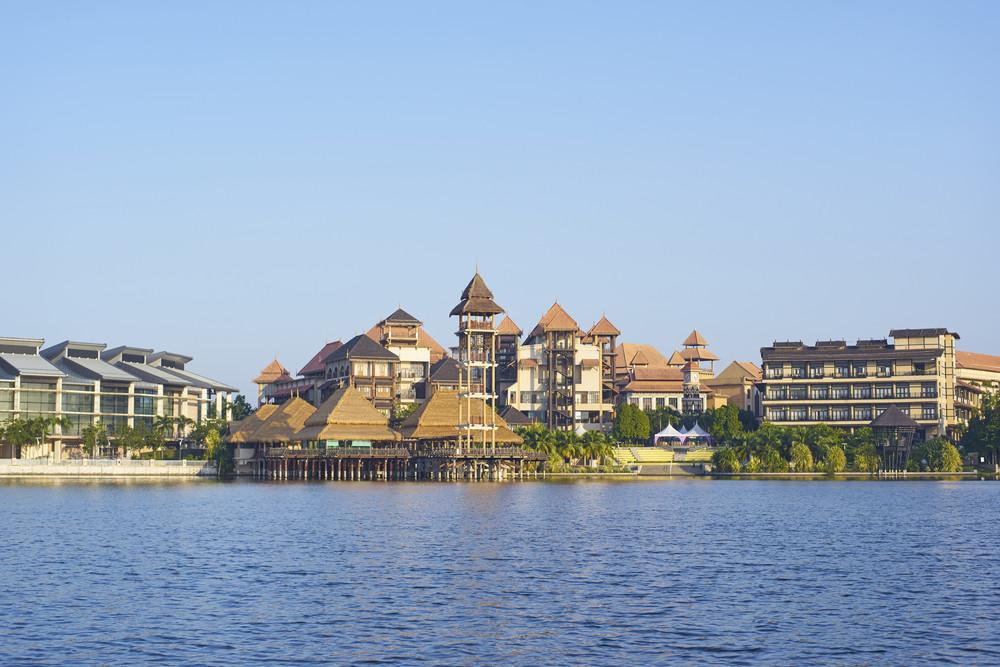 Putrajaya,Malaysia - June 27 : Pullman Putrajaya Lakeside on June 27,one of the most dynamic hotel at malaysia