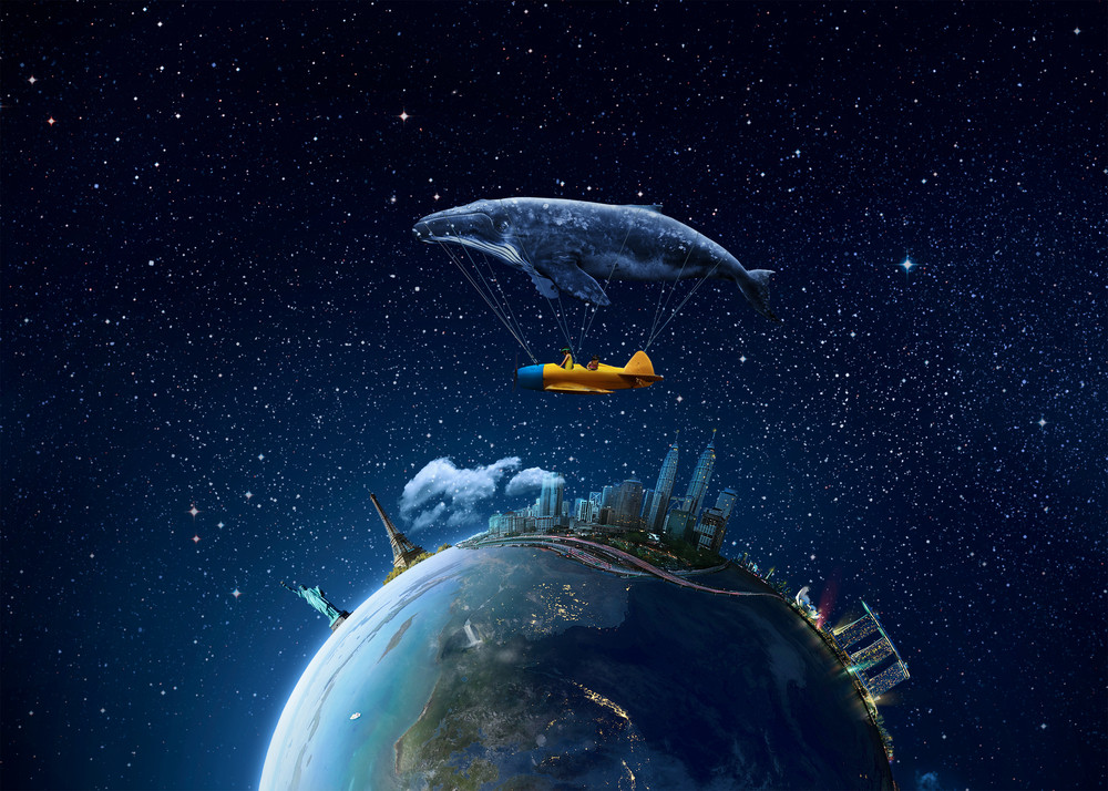 Take me to the dream - Elements of this image furnished by NASA.