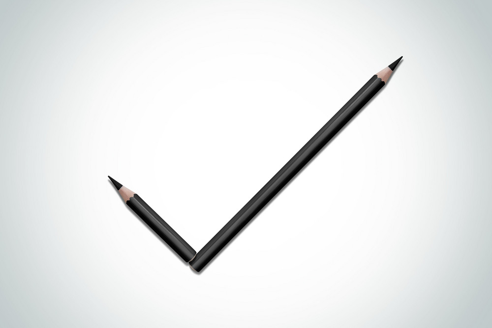 Tick composition of pencils