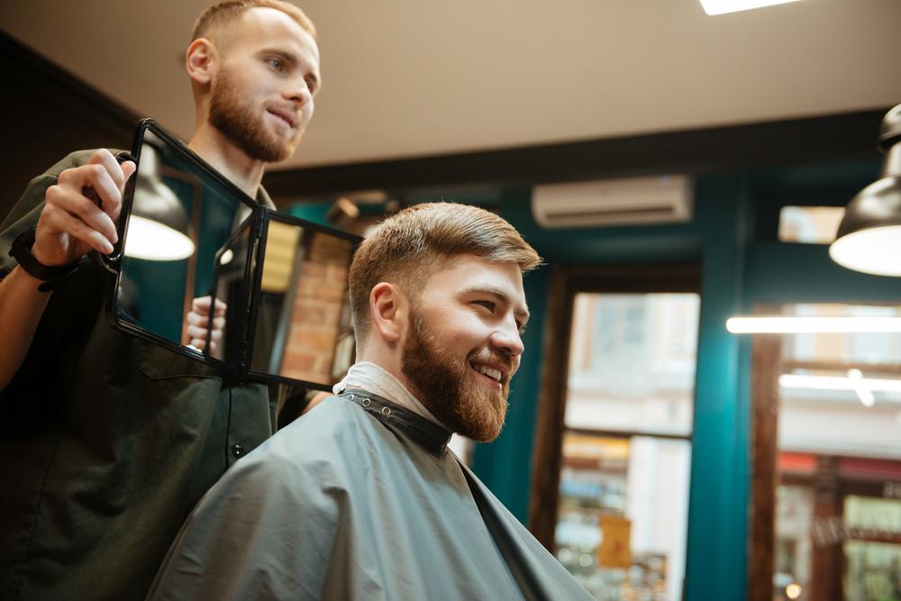 Getting A Haircut 56