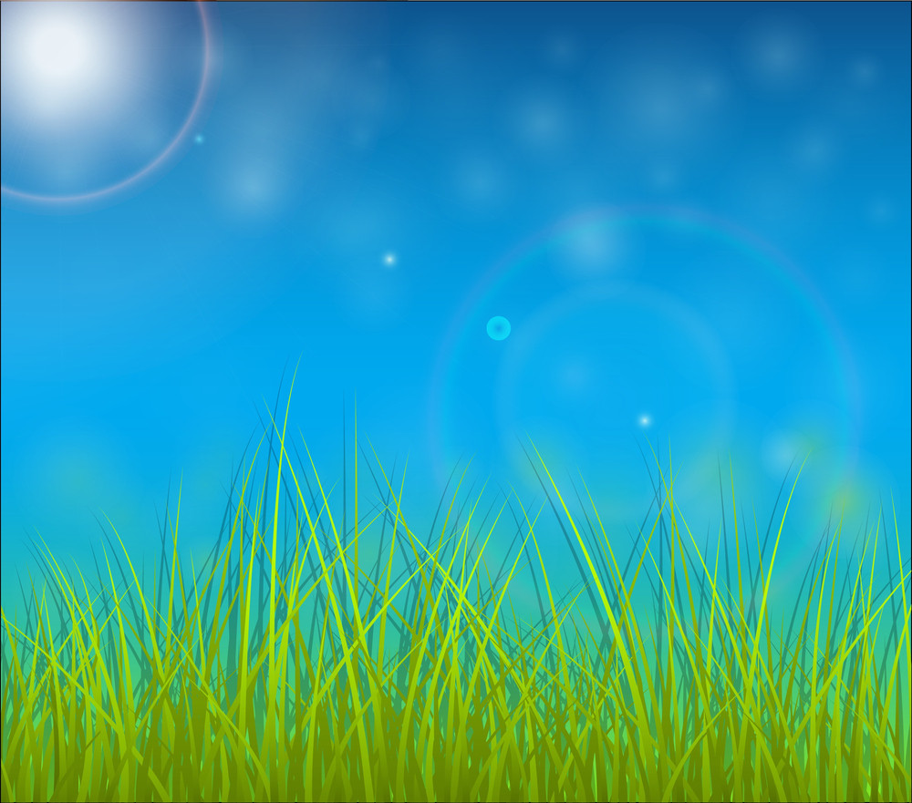 Grassline Background