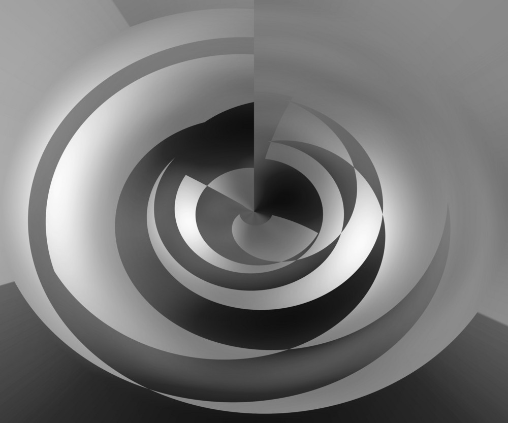 Gray Abstract Swirl Background