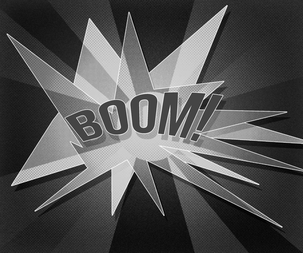 Gray Boom Vintage Background