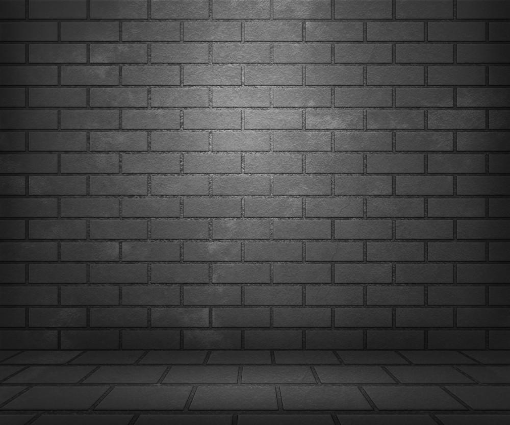 Gray Brick Stage Background