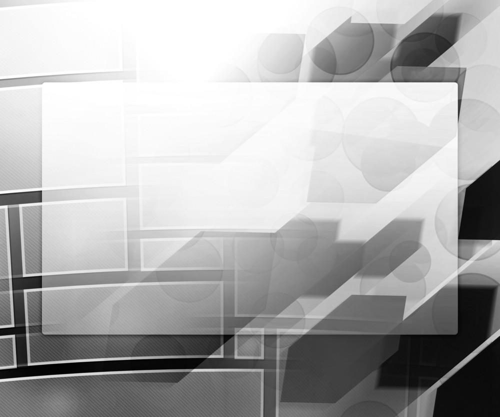 Gray Business Background Window
