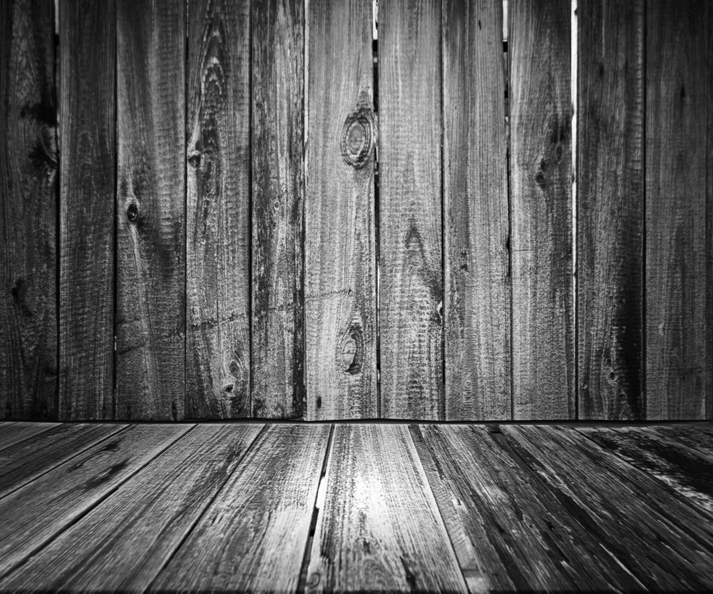 Gray Wooden Floor Background