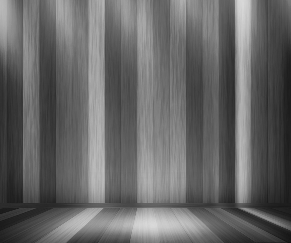 Gray Wooden Panels Room