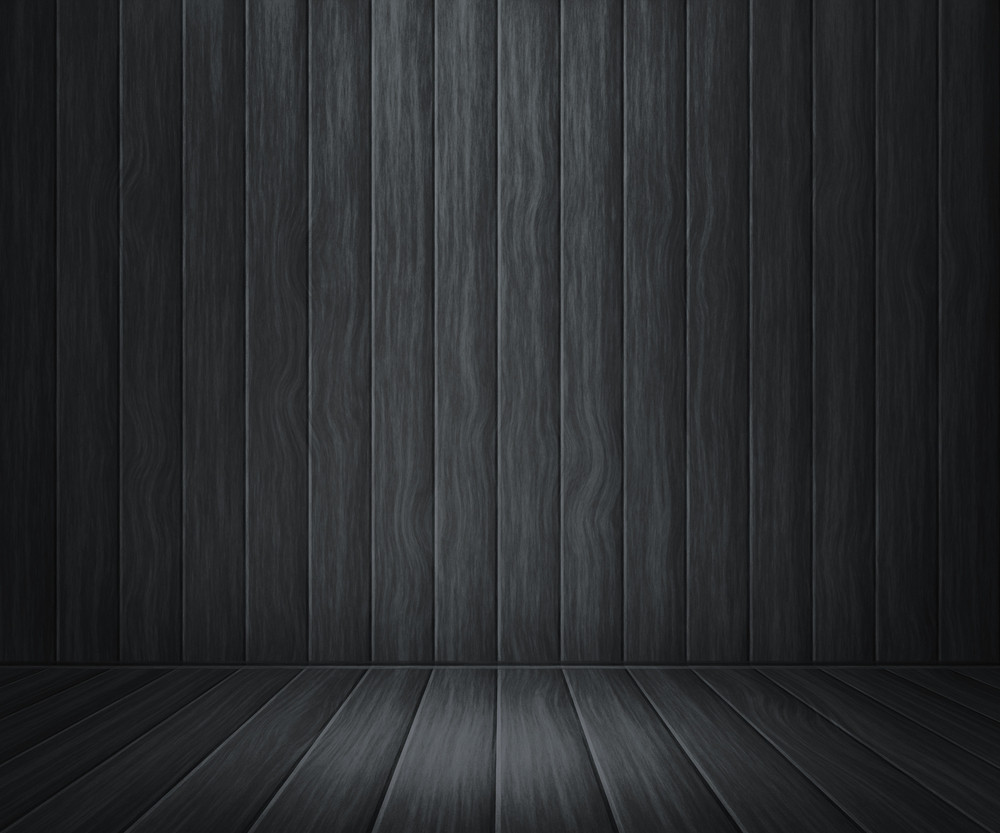 Gray Wooden Room Background