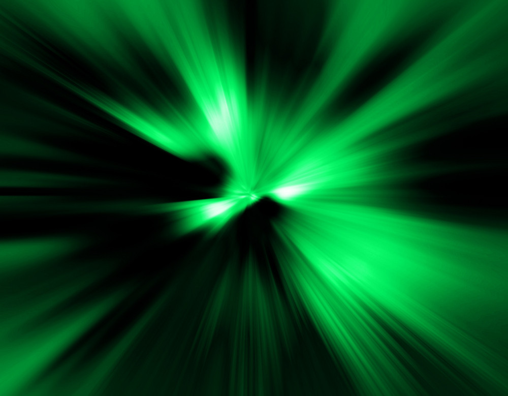 Green Abstract Effect Backdrop