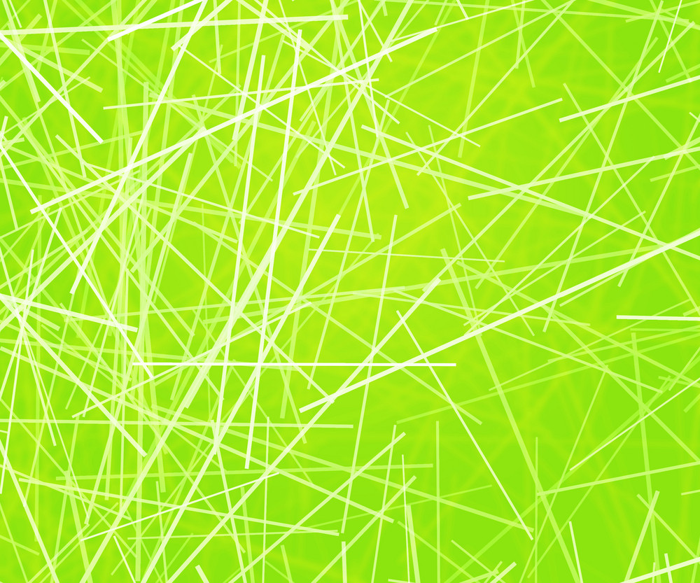 Green Abstract Lines Texture