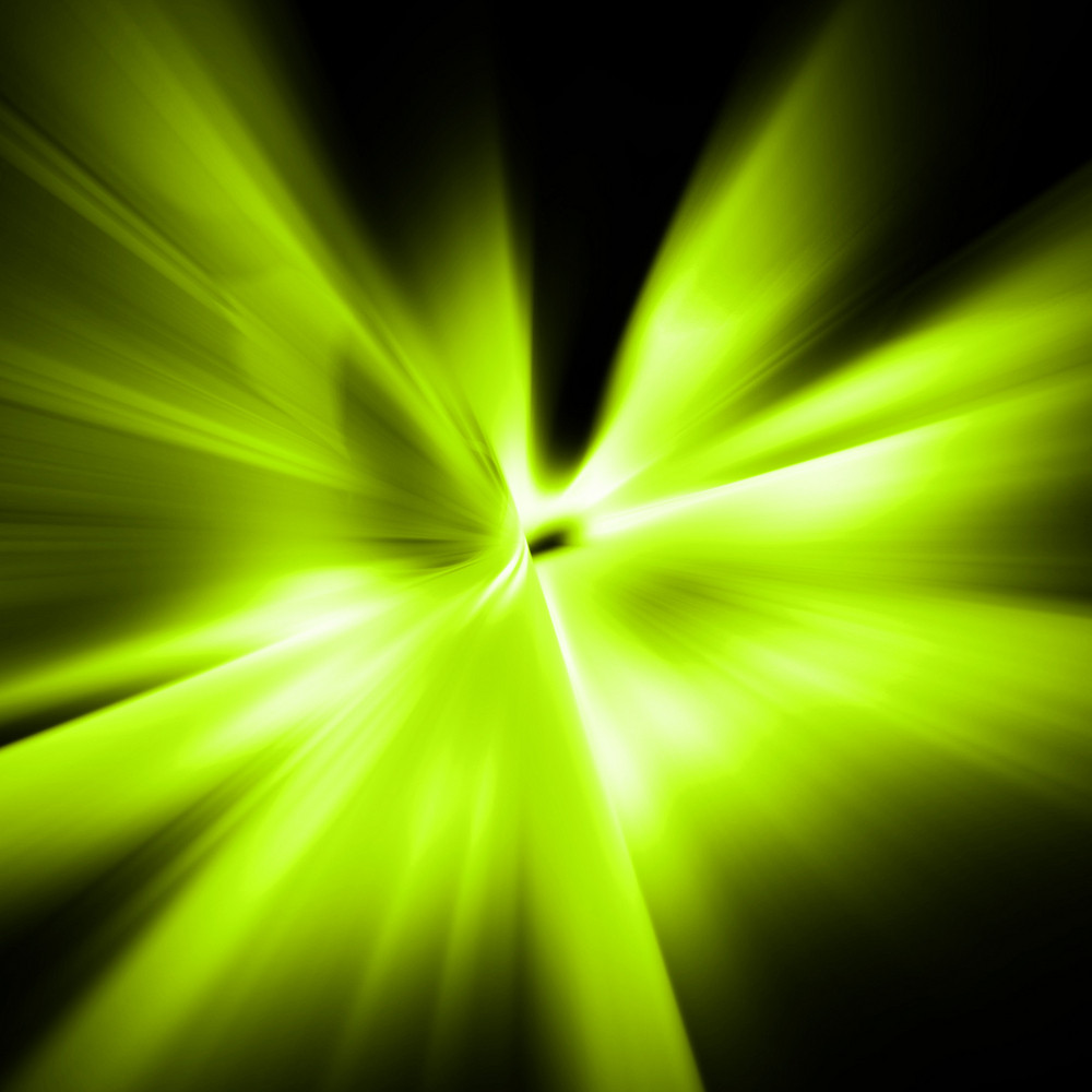 Green Abstract Motion Effect Background
