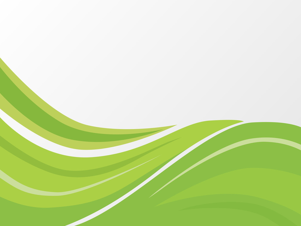 green abstract wave background royalty free stock image