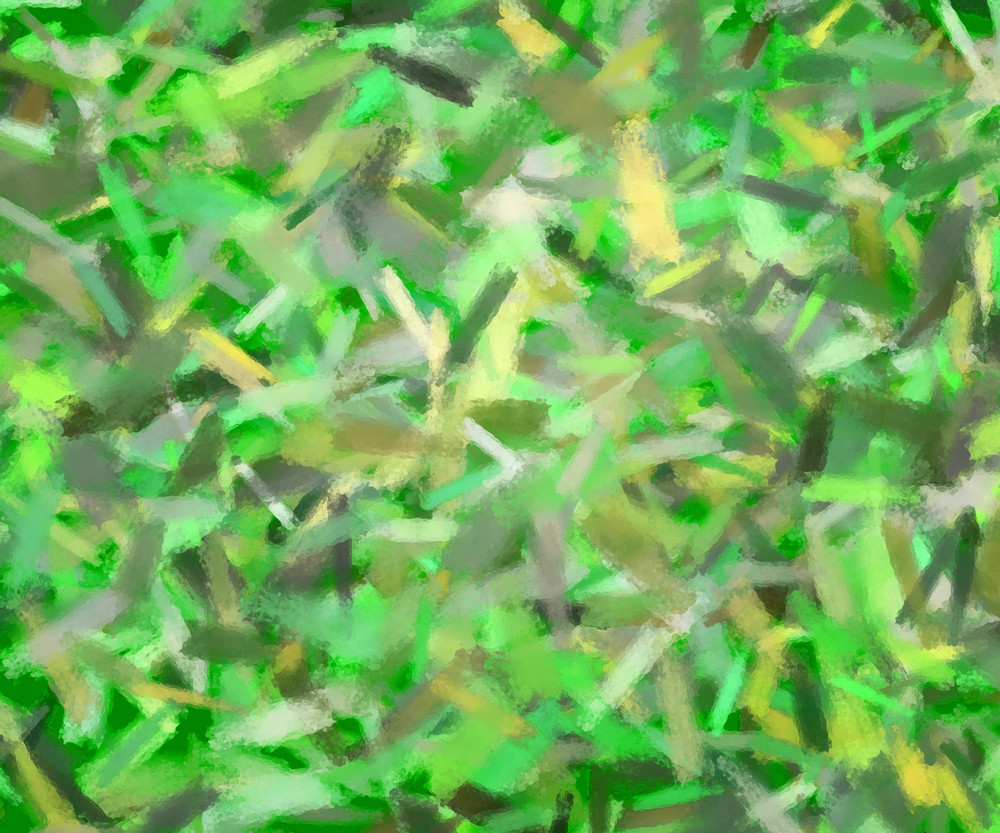 Green Artistic Texture