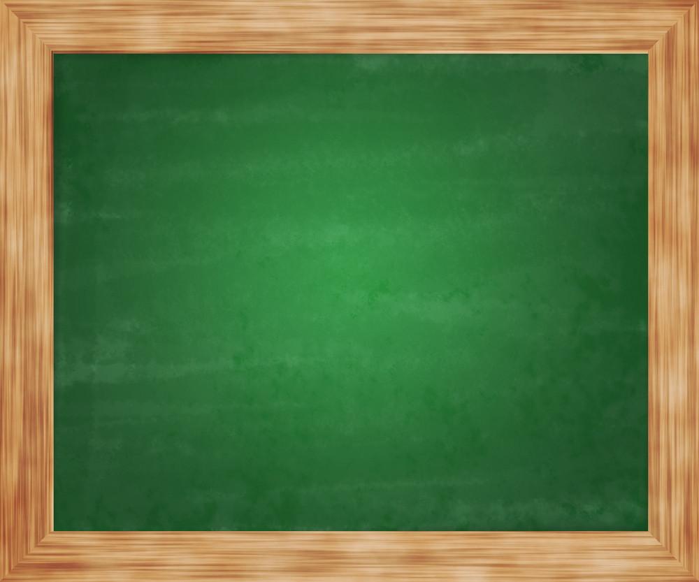 Green Blackboard Background