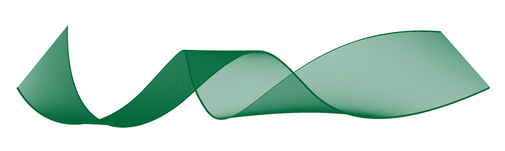 Green Blending Lines Shape