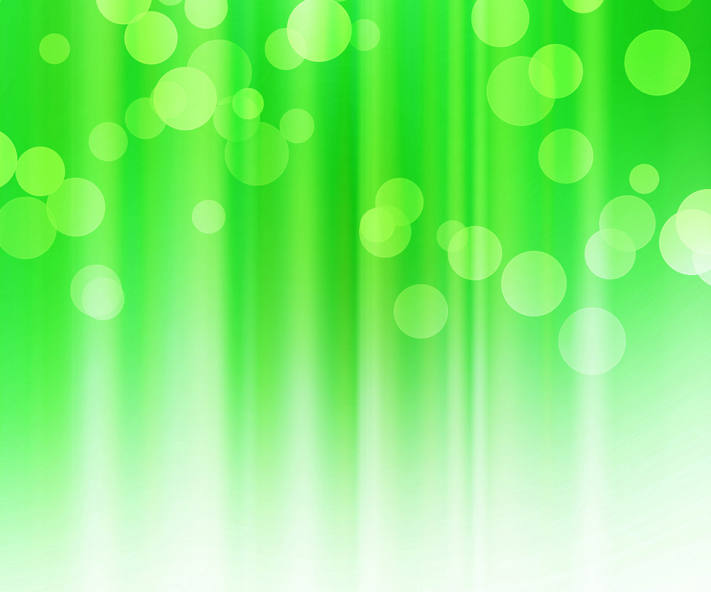 Green Bokeh Texture