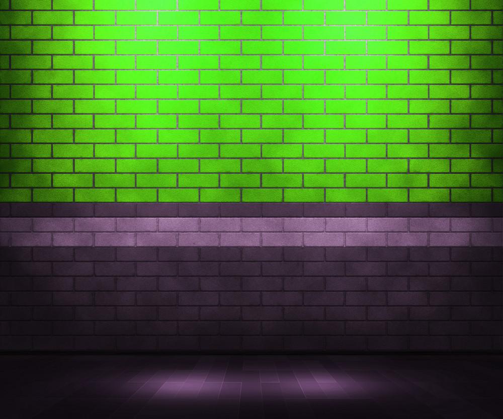 Green Brick Interior