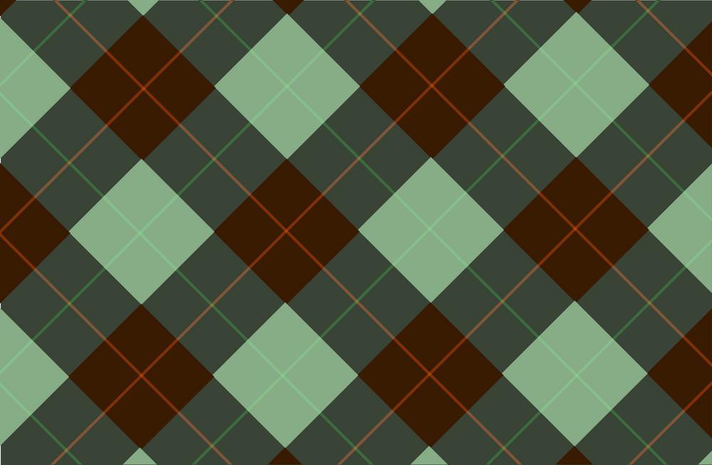 Green-brown Tartan Backdrop