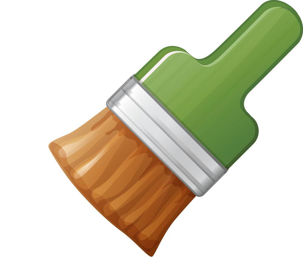 Green Brush