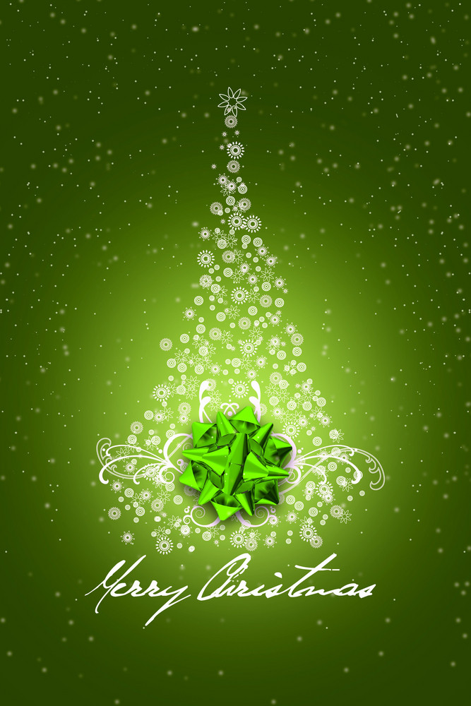 Green Christmas Design
