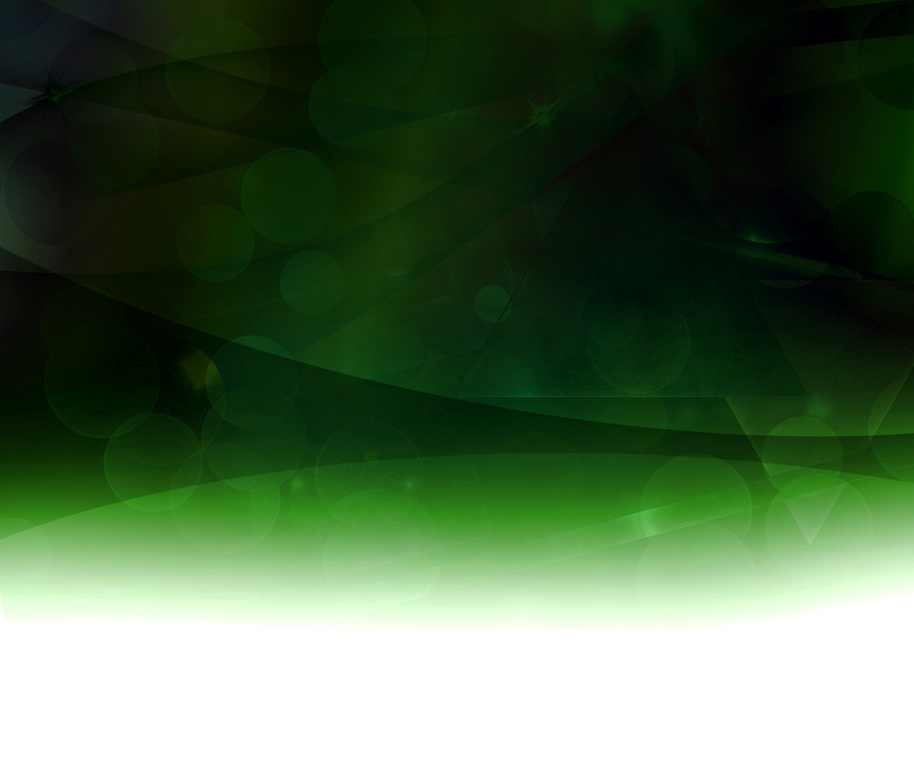 Green Dark Abstract Background