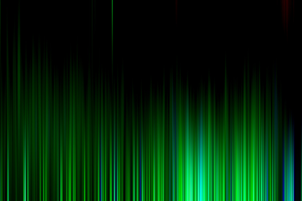 Green Dark Curtain