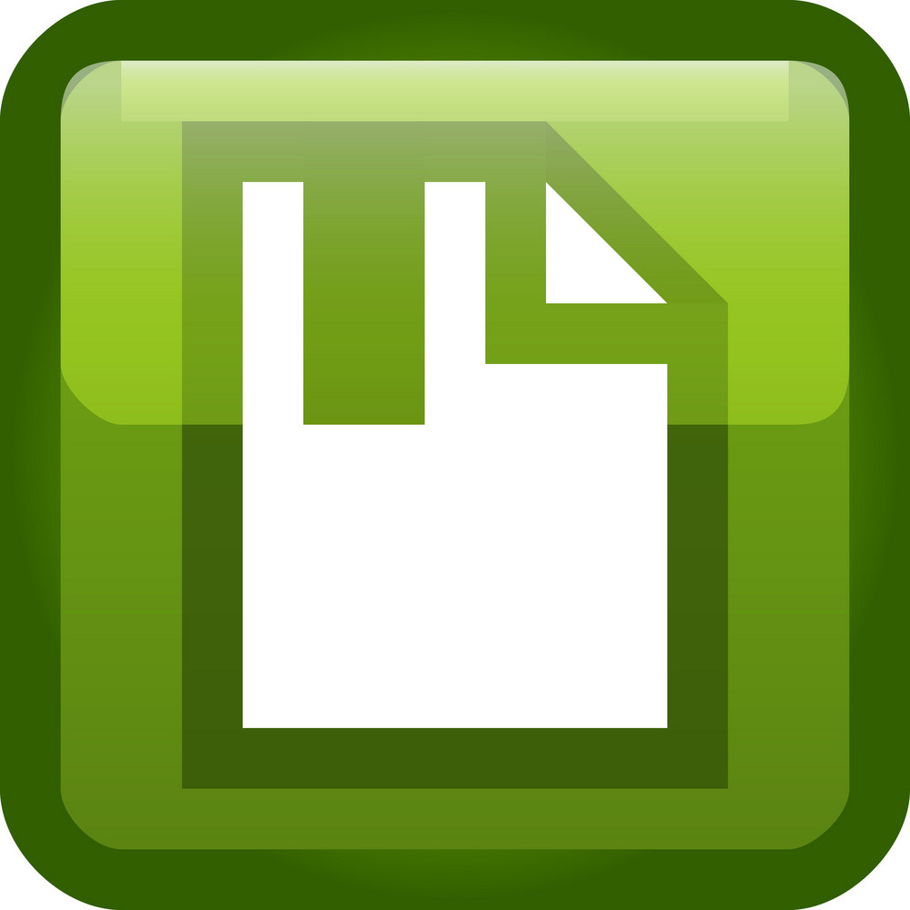 Green Doc Bookmark Tiny App Icon