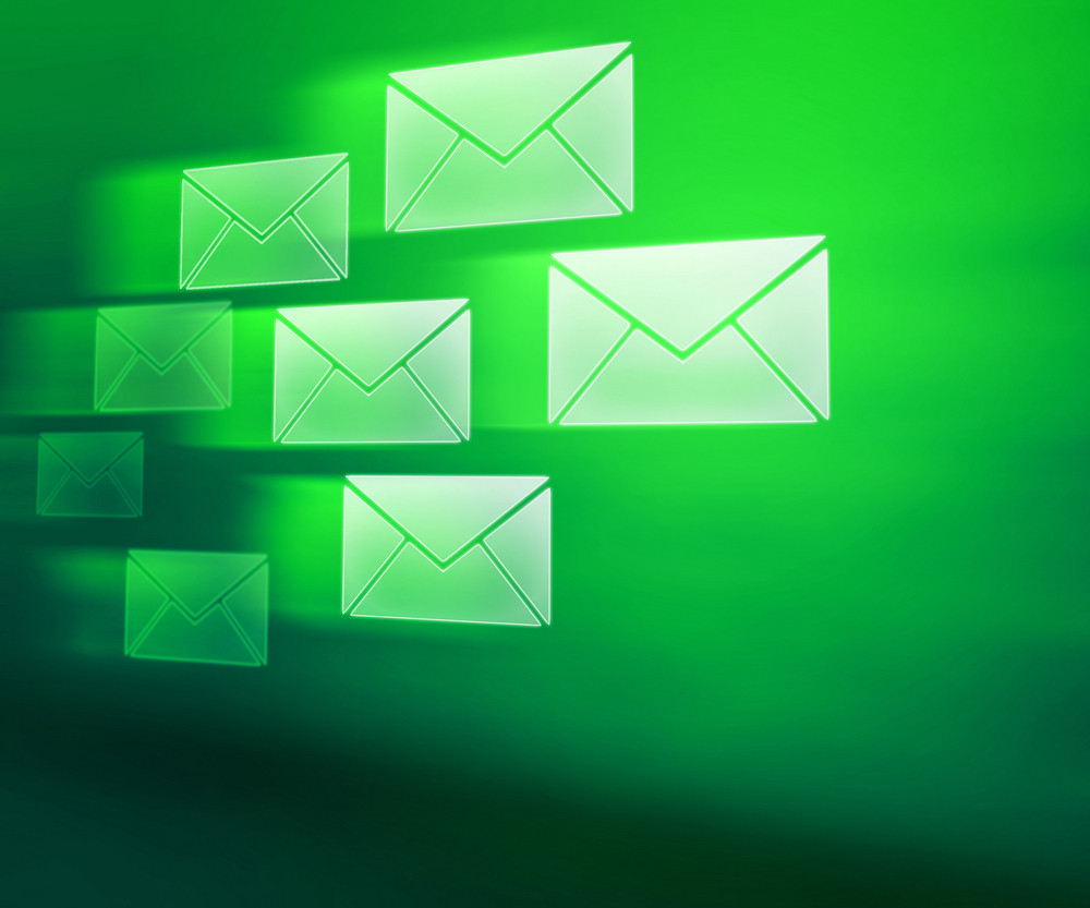 Green E-mails Abstract Background