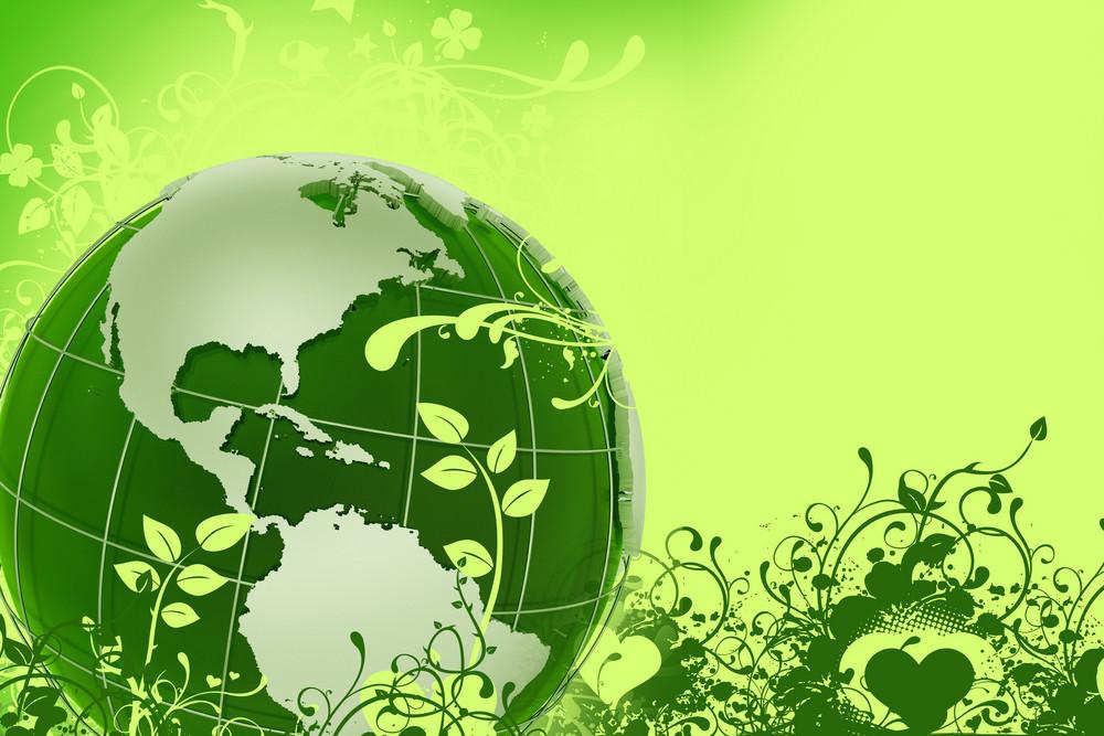Green Eco Globe
