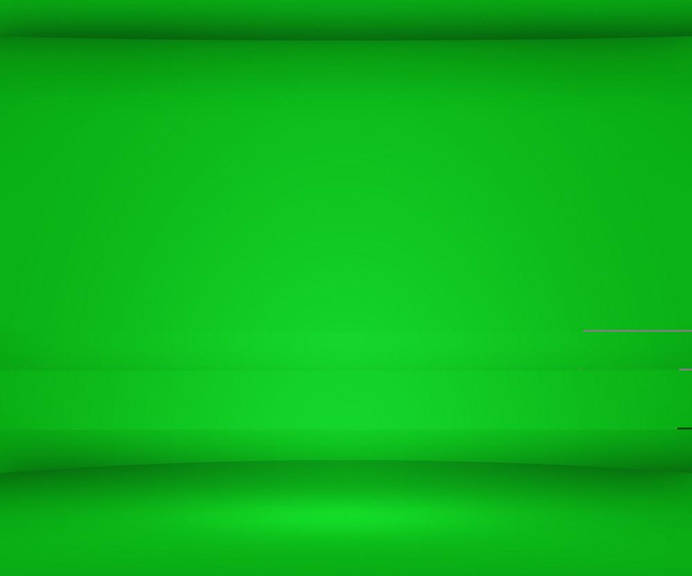 Green Empty Spot Background