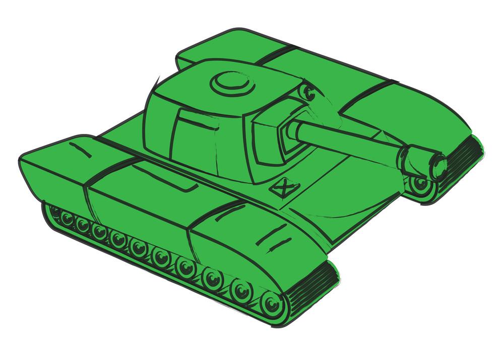 Green Fighter Tank
